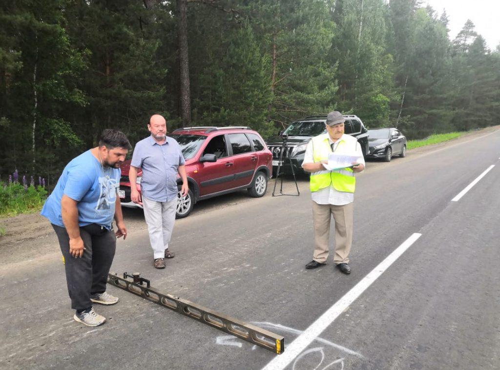 Ремонт дороги отПервомайска дотрассы Выездное-Дивеево-Сатис провели за4 дня