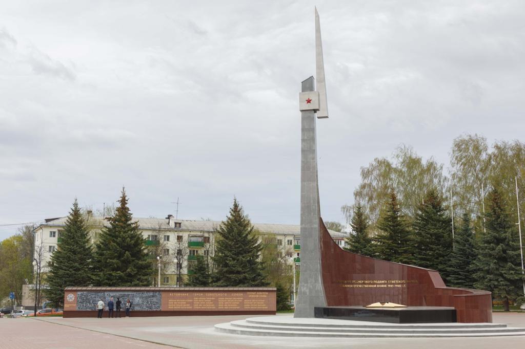 Мемориал вКстове отреставрирован врамках нижегородского проекта «Вам решать» вгод 75-летия Победы