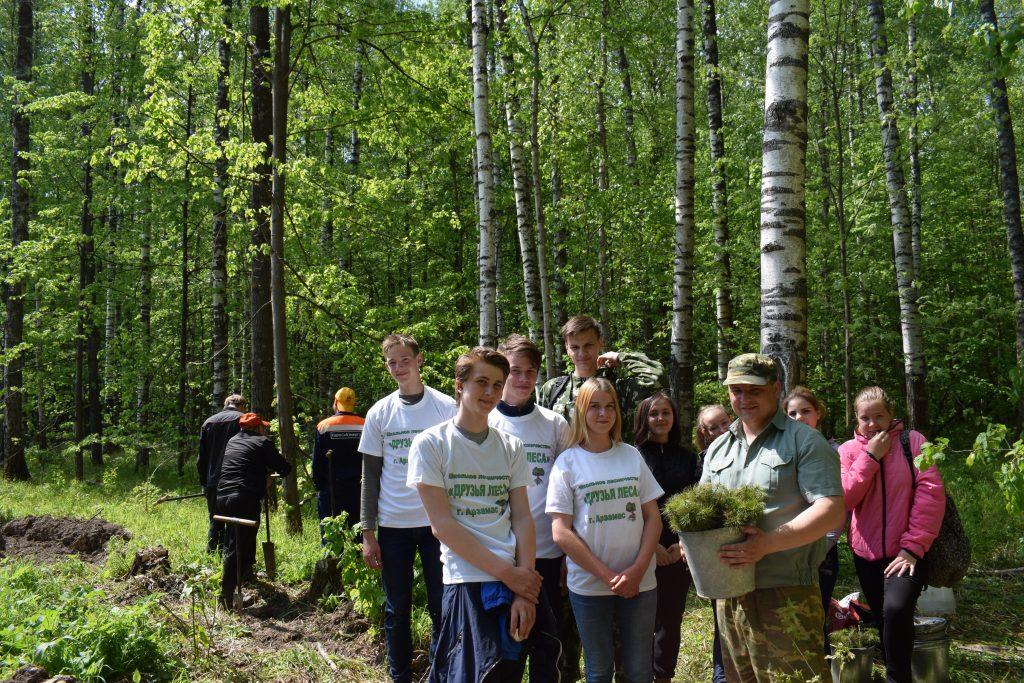 Арзамасские школьники начали защищать нижегородские леса