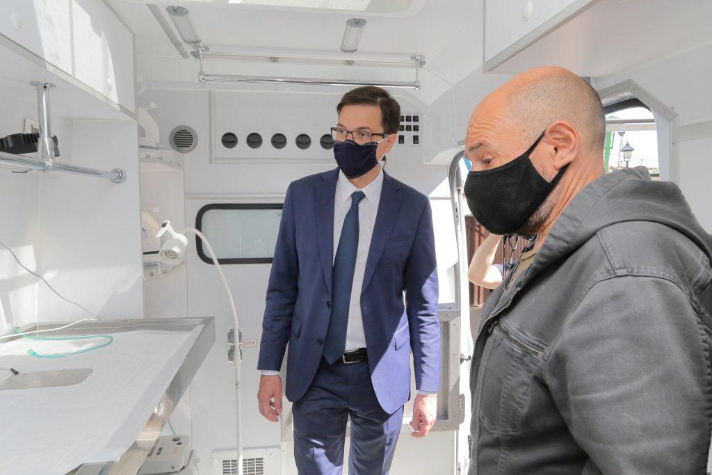 Мобильный ветгоспиталь заработал в Нижнем Новгороде