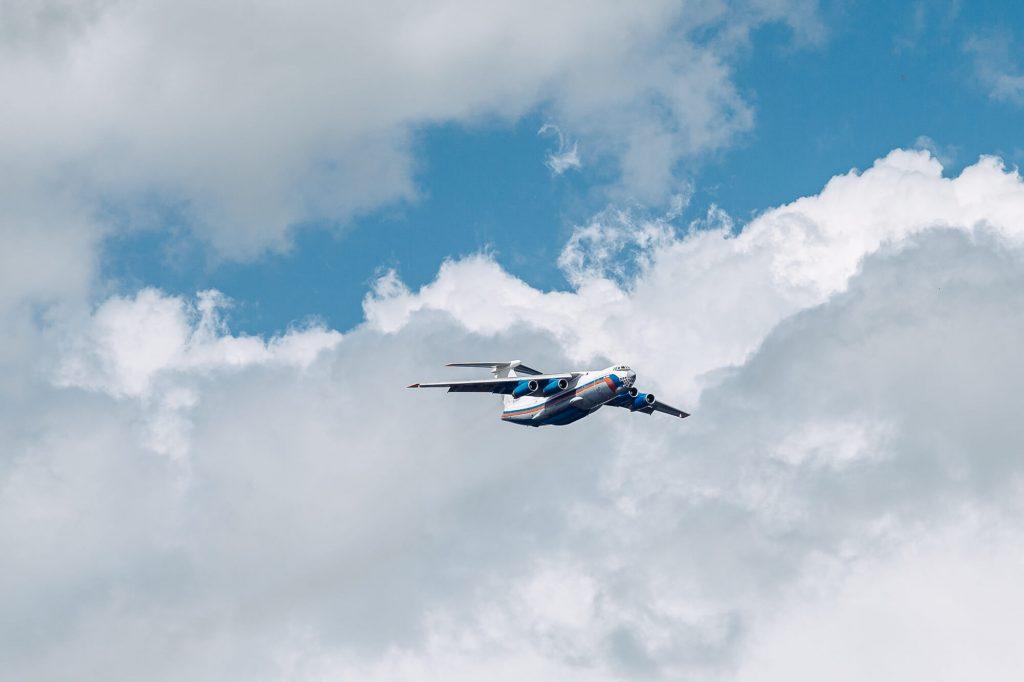 самолёты над нижним новгородом