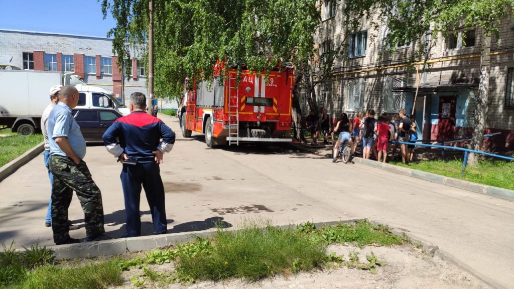 Два пожара в одном общежитии произошли в Нижнем Новгороде