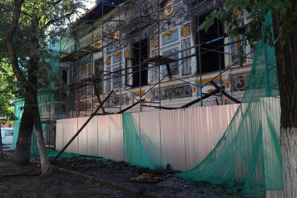 Стало известно, что пострадало при пожаре в Литературном музее Горького