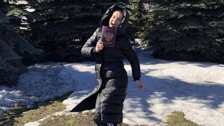 Наталия Орейро подала документы на получение российского паспорта