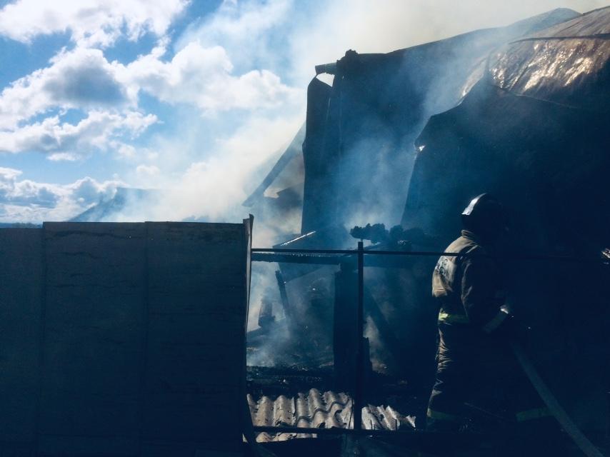 Три ребенка погибли на пожаре в Пильнинском районе (ВИДЕО)