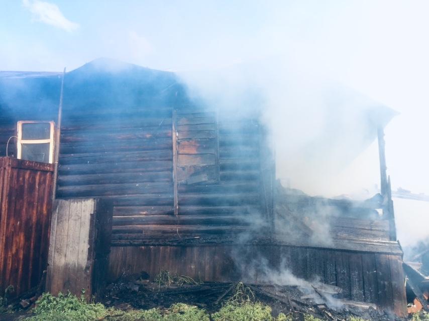 Стали известны подробности пожара в Пильнинском районе: возбуждено уголовное дело