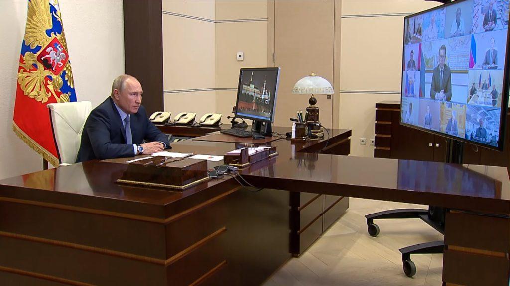 Глеб Никитин принял участие в совещании Владимира Путина с представителями различных отраслей экономики