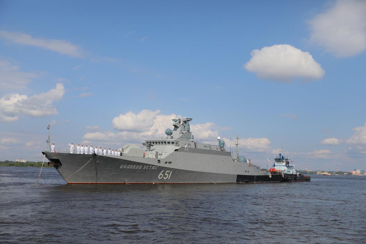 ракетный корабль Великий Устюг