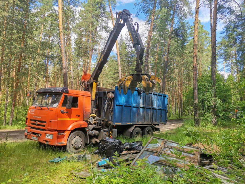 Несанкционированные свалки ликвидированы вВолодарском районе