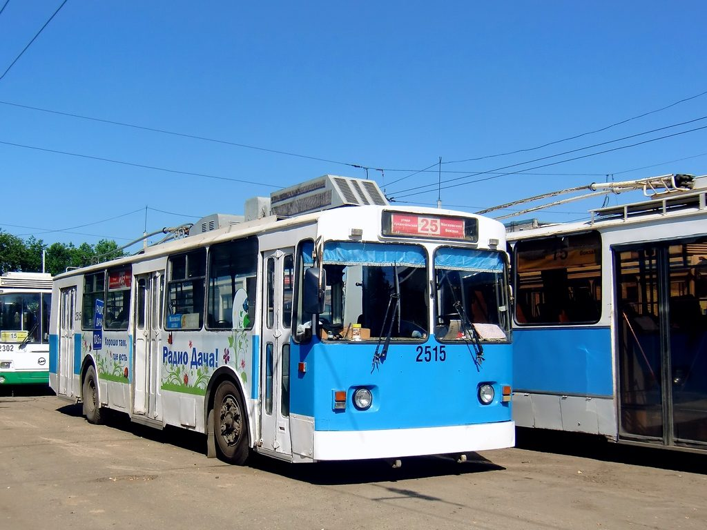 Движение троллейбуса №25 временно приостановлено в Нижнем Новгороде