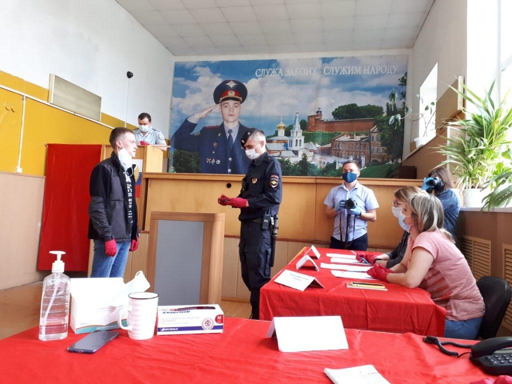 Заместитель председателя избирательной комиссии Нижегородской области Красильникова Анна приняла участие в командно-штабном учении