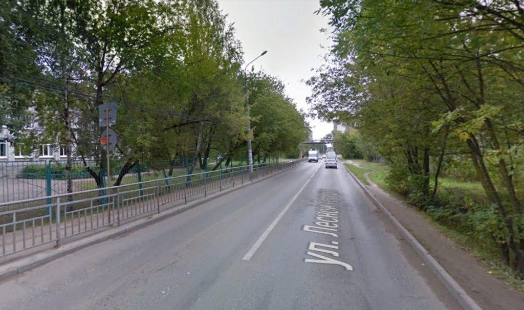 Движение транспорта временно ограничат на улице Лесной городок в Нижнем Новгороде