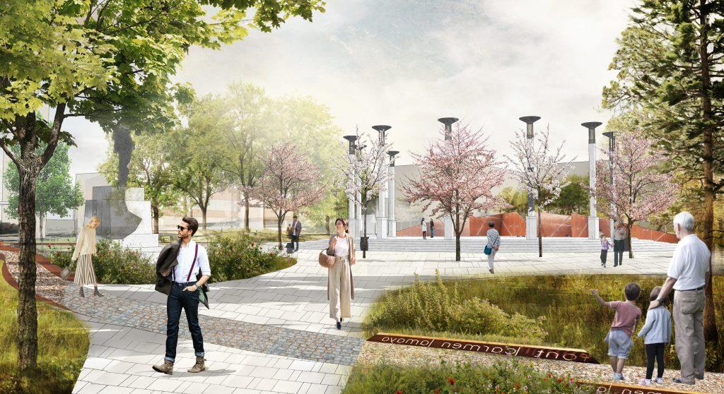 Нижегородцам представили концепции благоустройства общественных пространств: смотрим, как могут измениться любимые места в городе