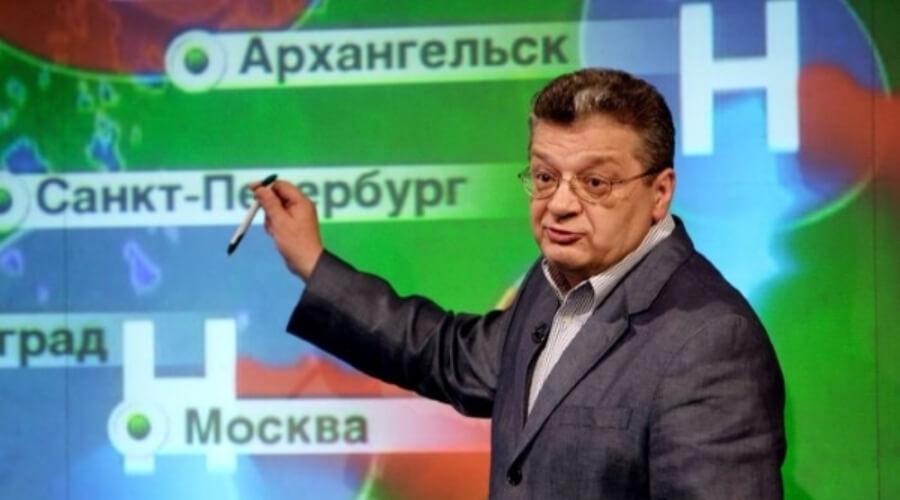 Ушёл из жизни ведущий прогноза погоды на НТВ Александр Беляев