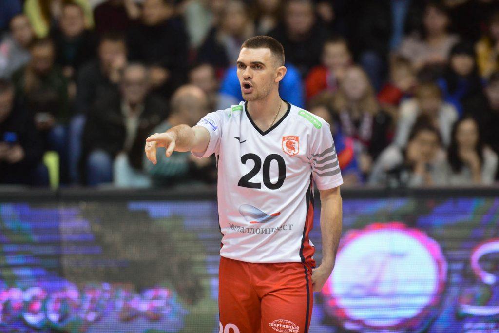 Артем Зеленков заключил контракт с нижегородским волейбольным клубом АСК