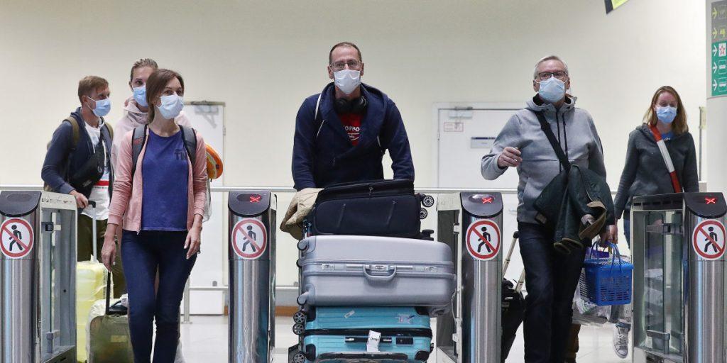 Более 60 нижегородцев вернулись на родину вывозными рейсами