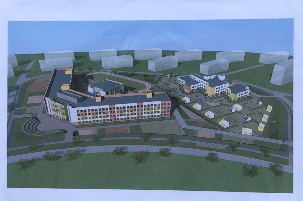 Специалисты приступили квозведению конструкций цокольного этажа школы вЖК «Новинки Смарт Сити»