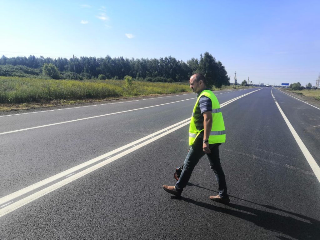 Ремонт 5км дороги Выездное-Дивеево-Сатис завершился вАрзамасском районе