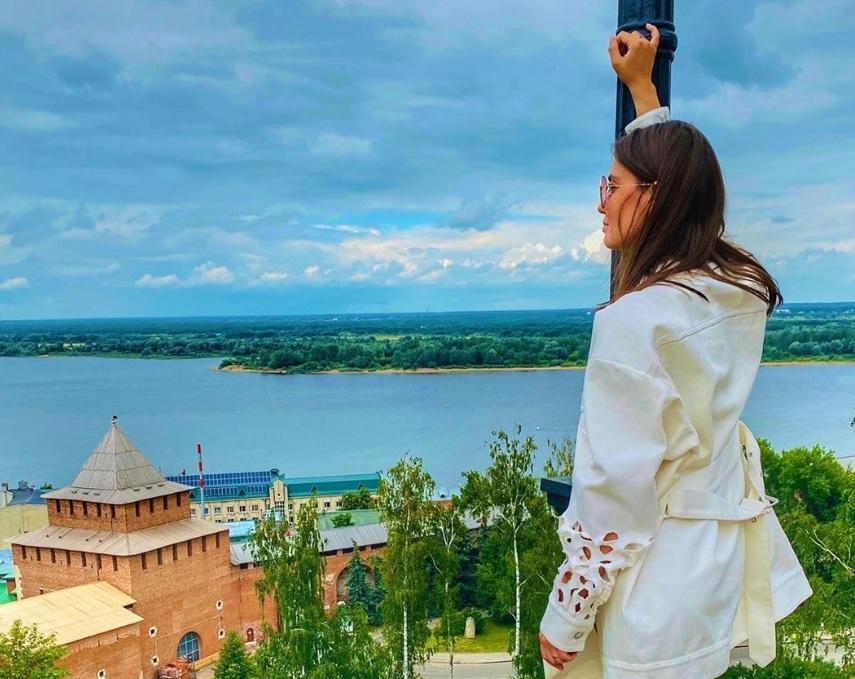 Агата Муцениеце влюбилась в Нижний Новгород  «с первых секунд»