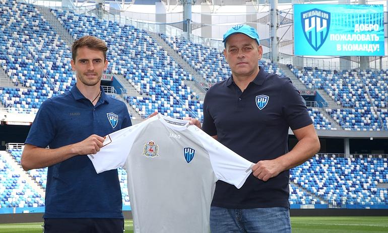 Артём Попов стал новым игроком ФК «Нижний Новгород»