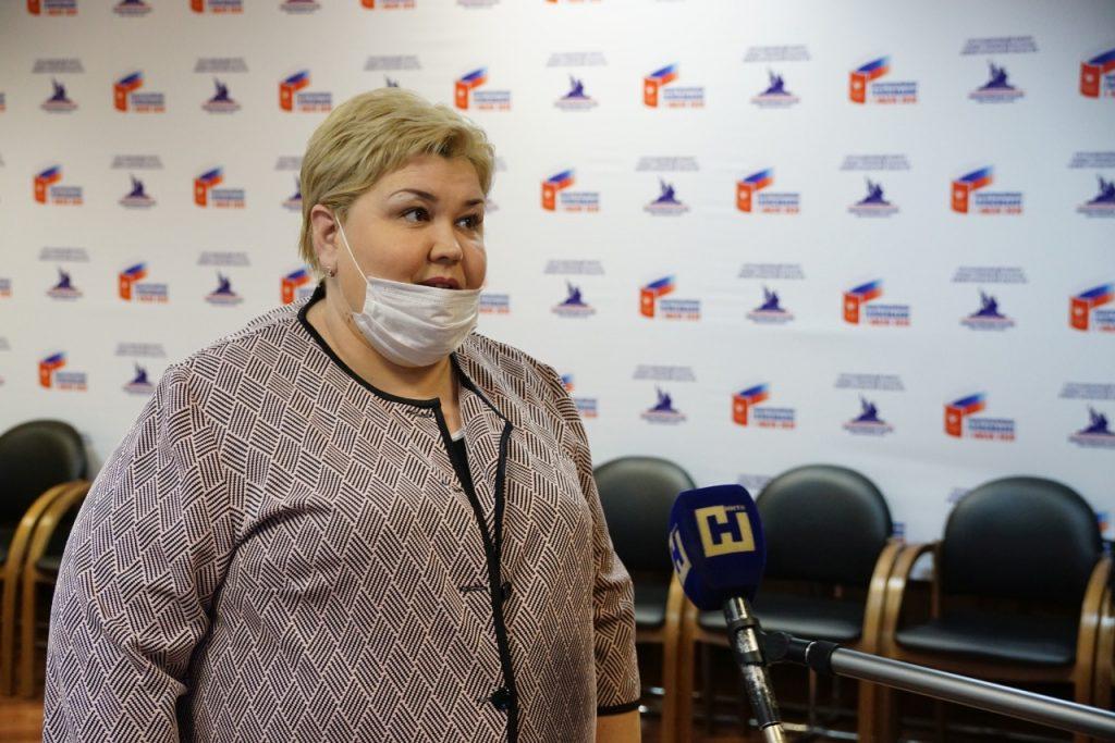 Елена Барышникова: «Весь избирательный процесс свидетельствует о легитимности результатов голосования»