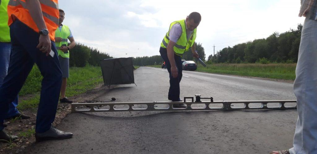 Региональный минтранс иобщественные контролеры оценили качество ремонта дорог вНижегородской области