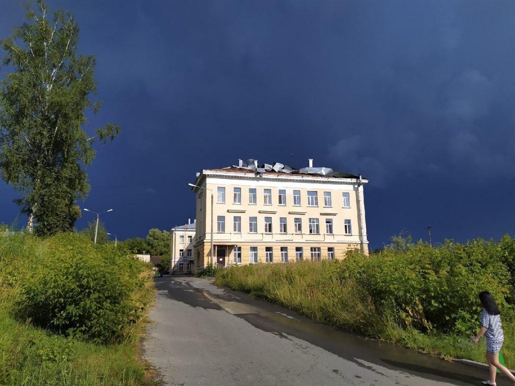Мощный ураган прошёлся по югу Нижегородской области