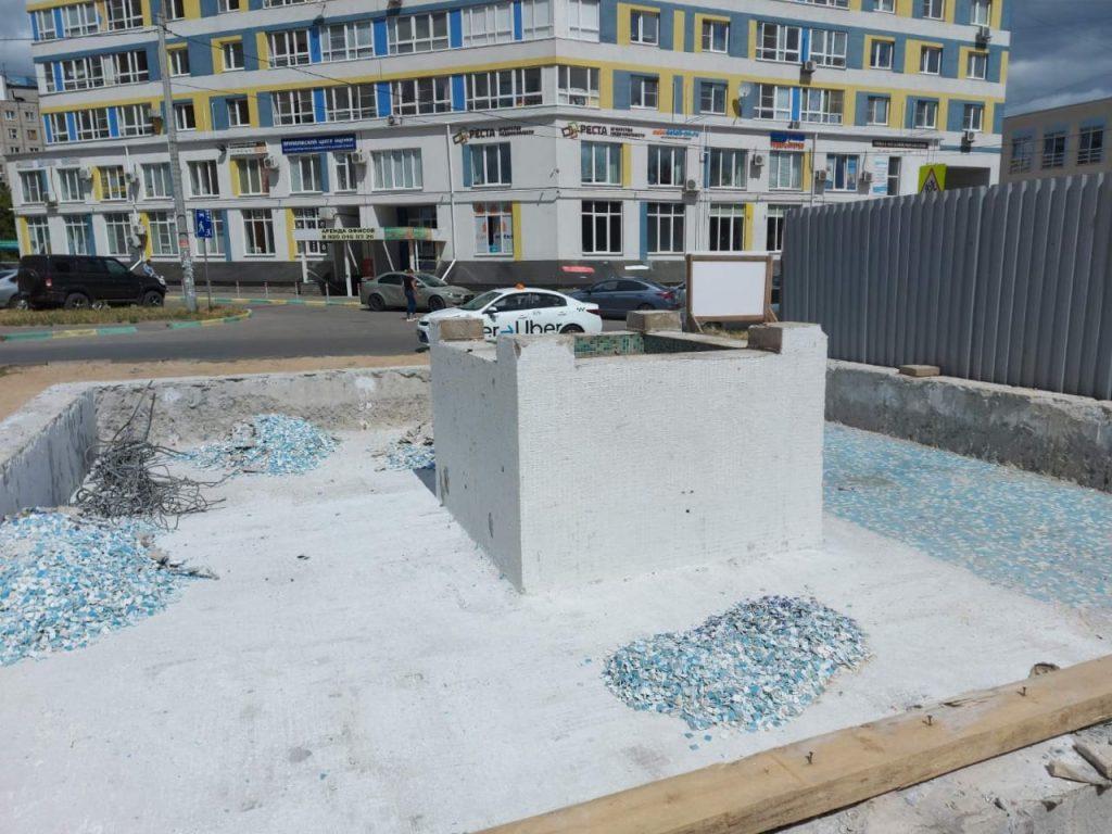 Светодинамический фонтан появится в Канавинском сквере