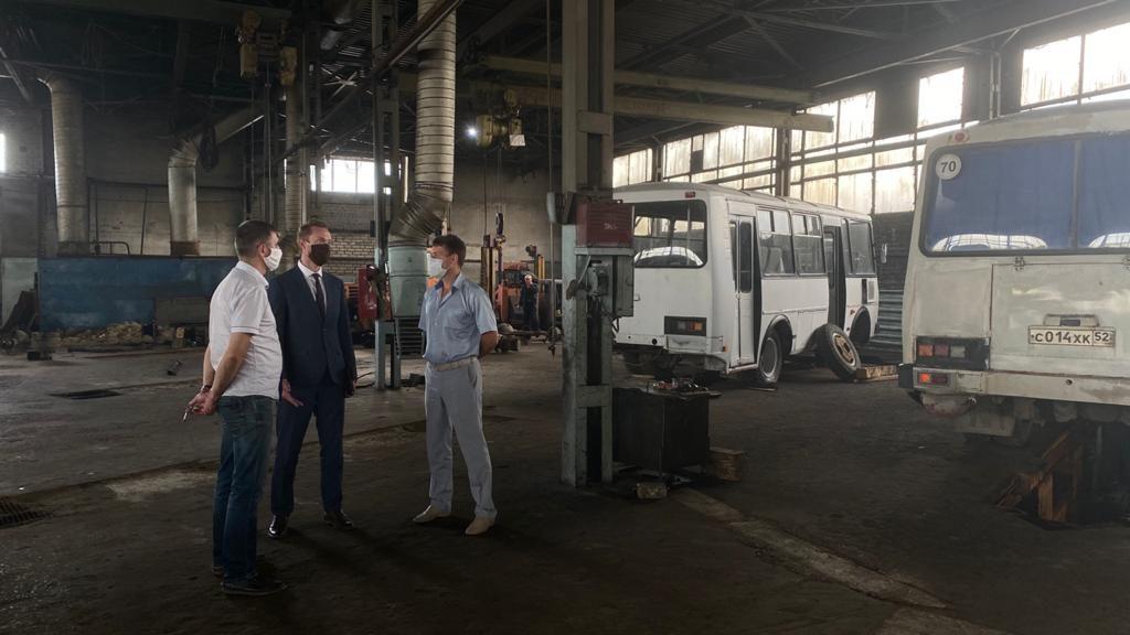 Региональный минтранс проверил работу МУП «Городецпассажиравтотранс»