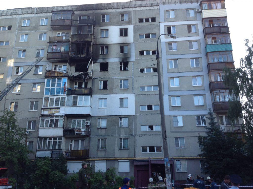 Следственный комитет возбудил уголовное дело о взрыве газа в Нижнем Новгороде