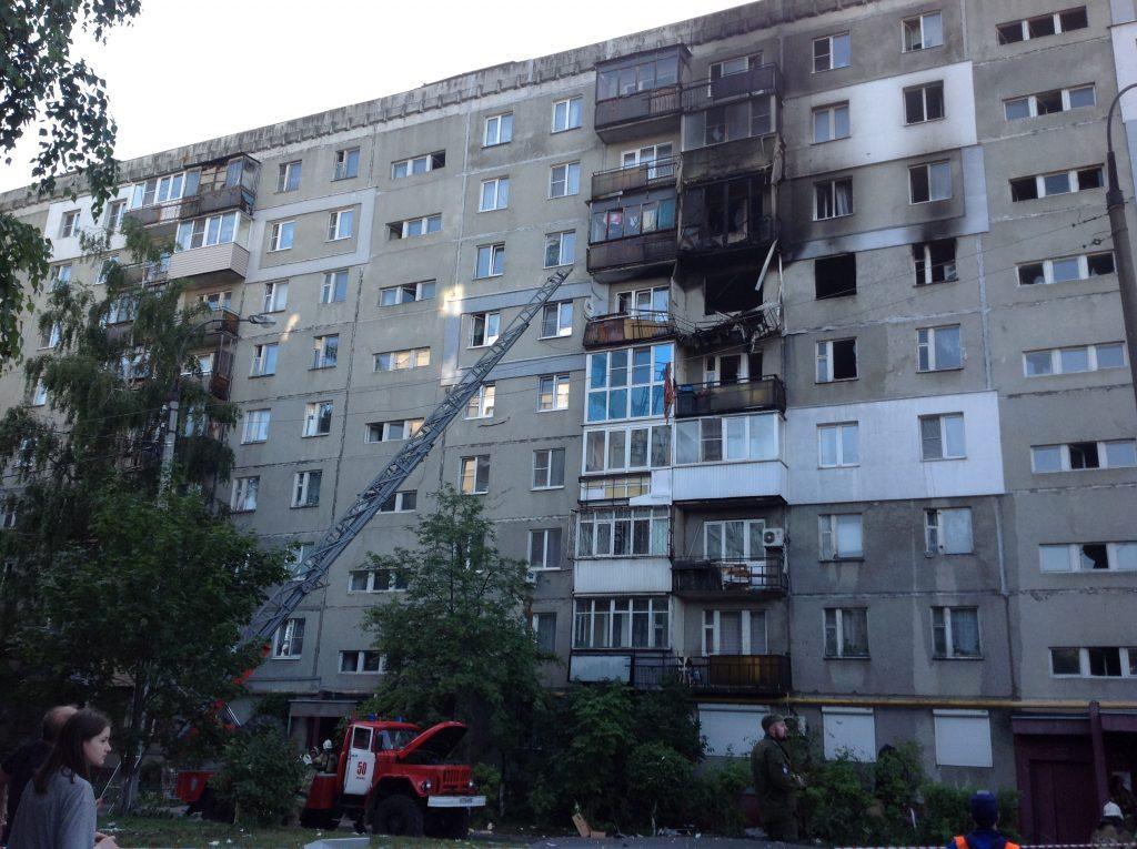 Взрыв газа произошёл в квартире в Нижнем Новгороде