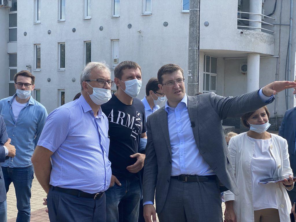 Глеб Никитин поручил благоустроить улицы, прилегающие кНижегородскому цирку