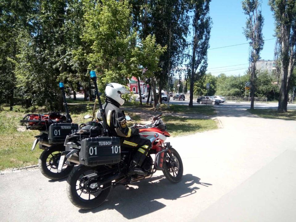 Спасатели-мотоциклисты появились на дорогах Нижегородской области