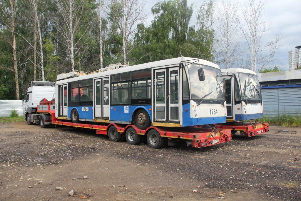 Использованные троллейбусы из Москвы пустят по улицам Нижнего Новгорода