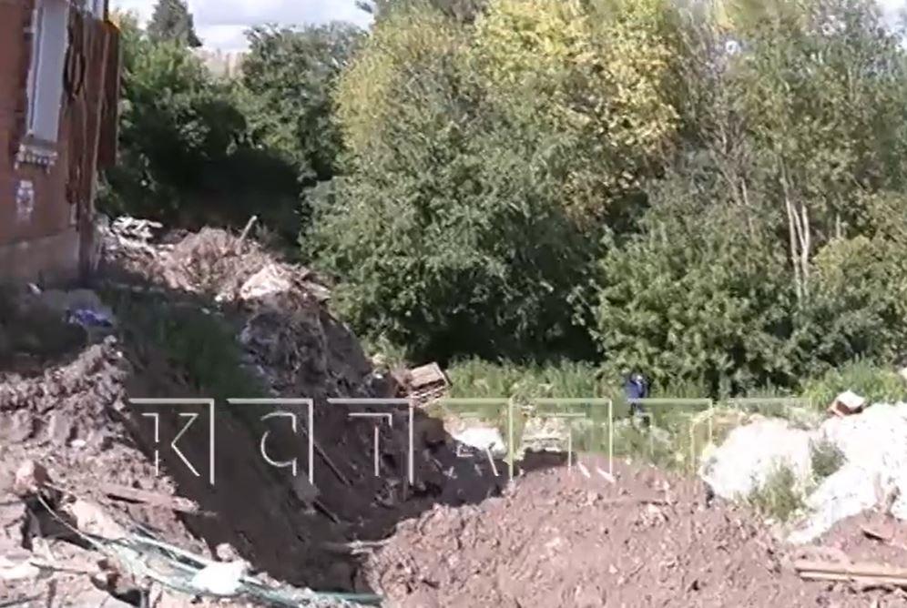 Деревни в Кстове сползают под землю