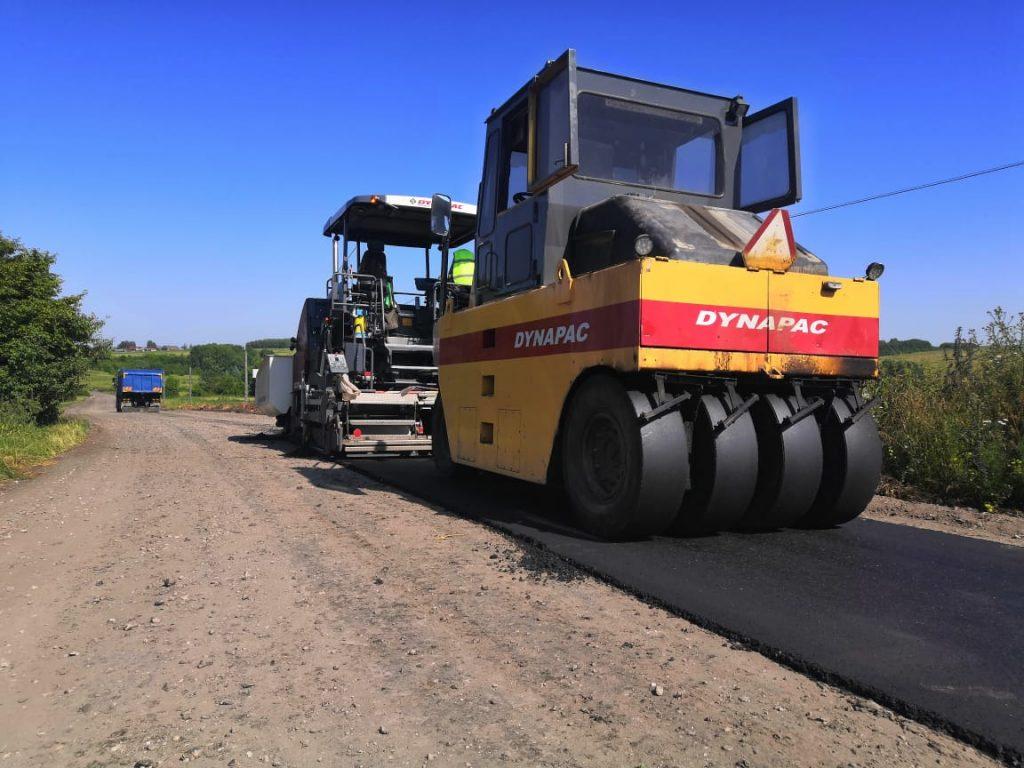 Завершается ремонт подъездного пути кселу Ожгибовка вПильнинском районе