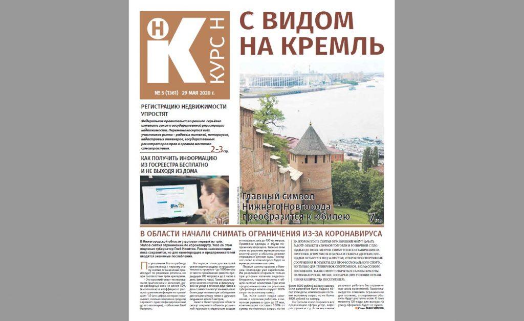 Газета «Курс Н» в июле: Лето — пора масштабных работ по благоустройству