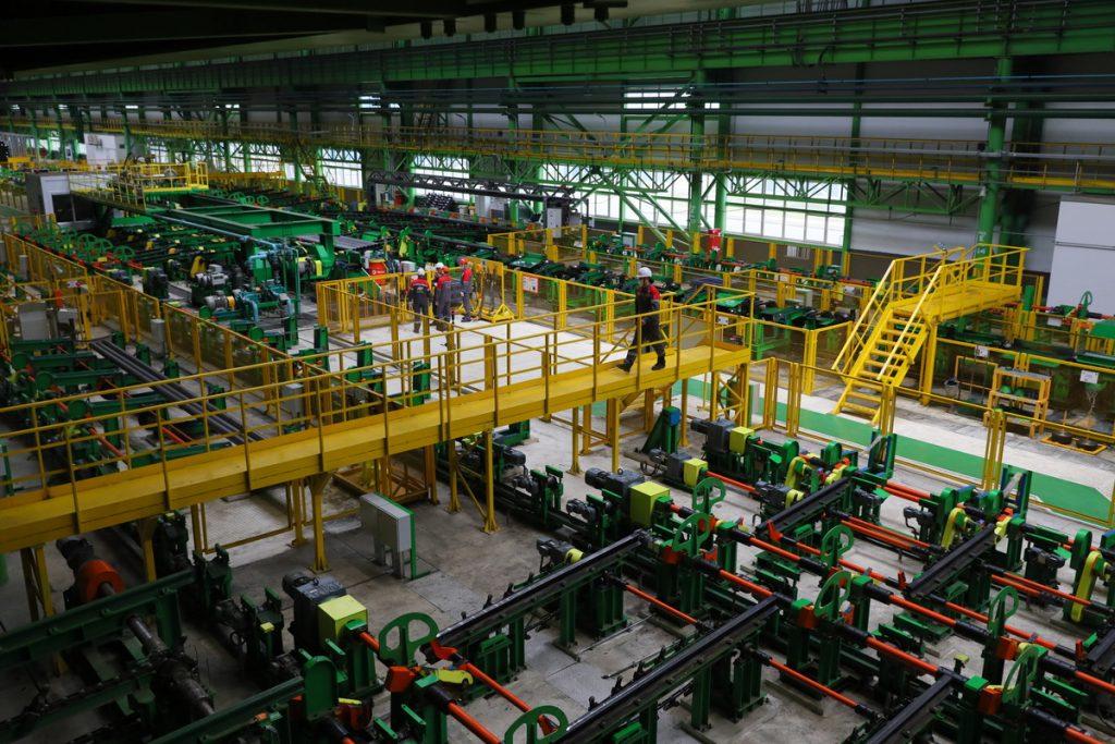 Уникальный цех на 1000 новых рабочих мест открылся на Выксунском металлургическом заводе