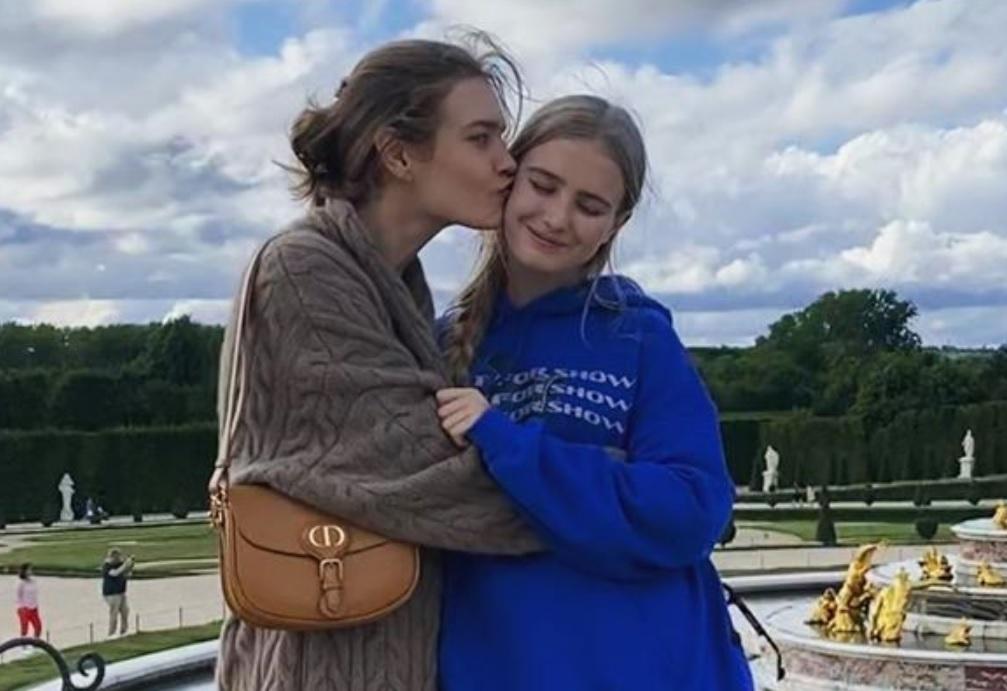 Наталья Водянова показала повзрослевшую дочь