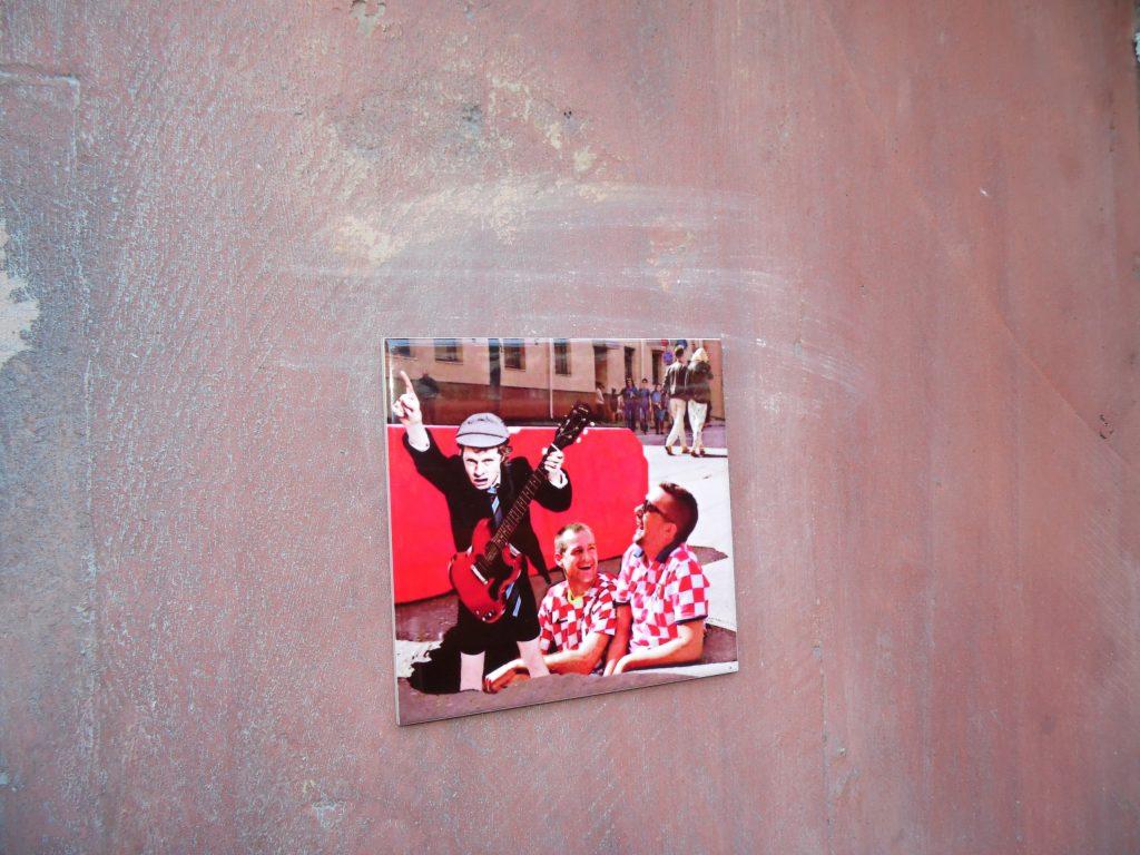 Бэнкси Нижегородский создал уличную галерею у Нижполиграфа