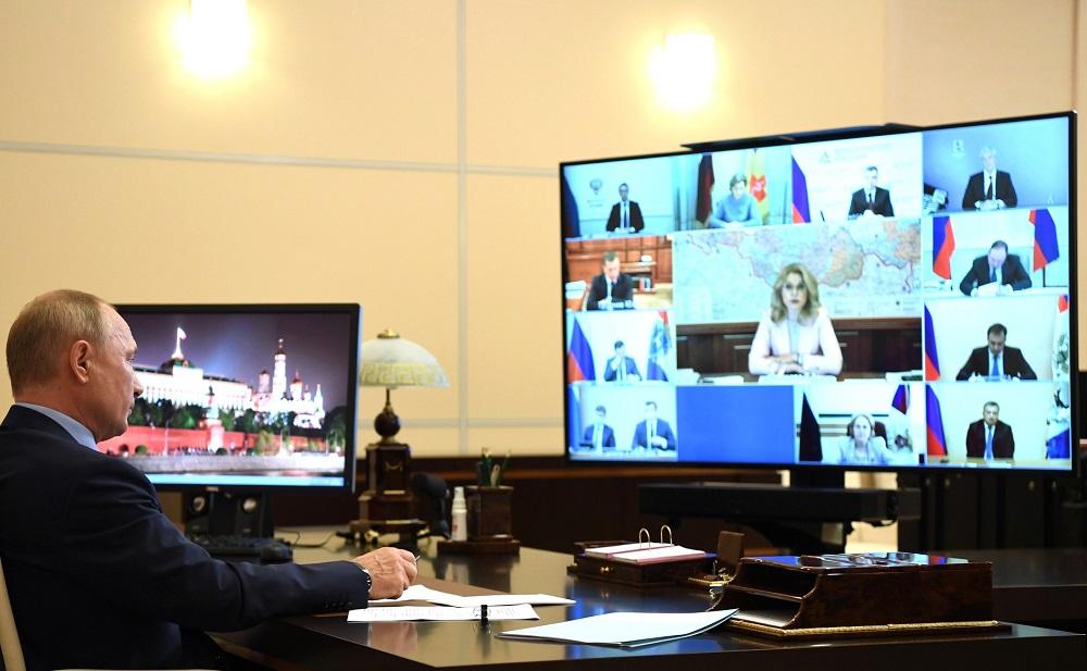Глеб Никитин принял участие в совещании под председательством Владимира Путина