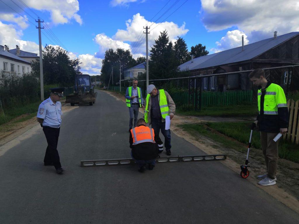 ВВарнавинском районе отремонтировали два участка трассы врамках нацпроекта «Безопасные икачественные автомобильные дороги»