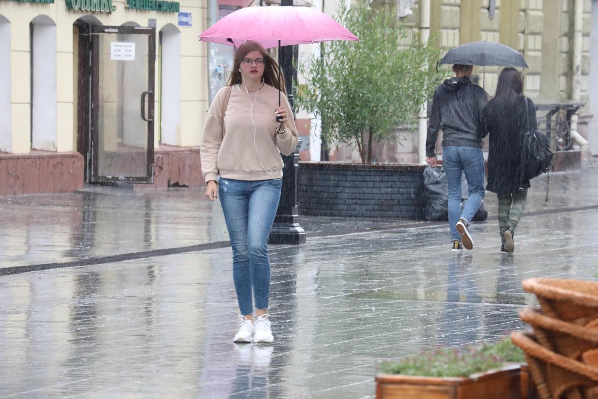 МЧС: сильные дожди ожидаются в Нижегородской области в ближайшие часы
