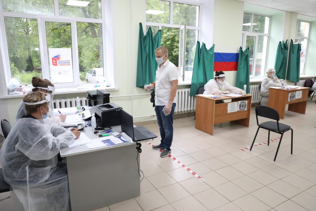 Почти 80% нижегородцев проголосовали за поправки в Конституцию РФ