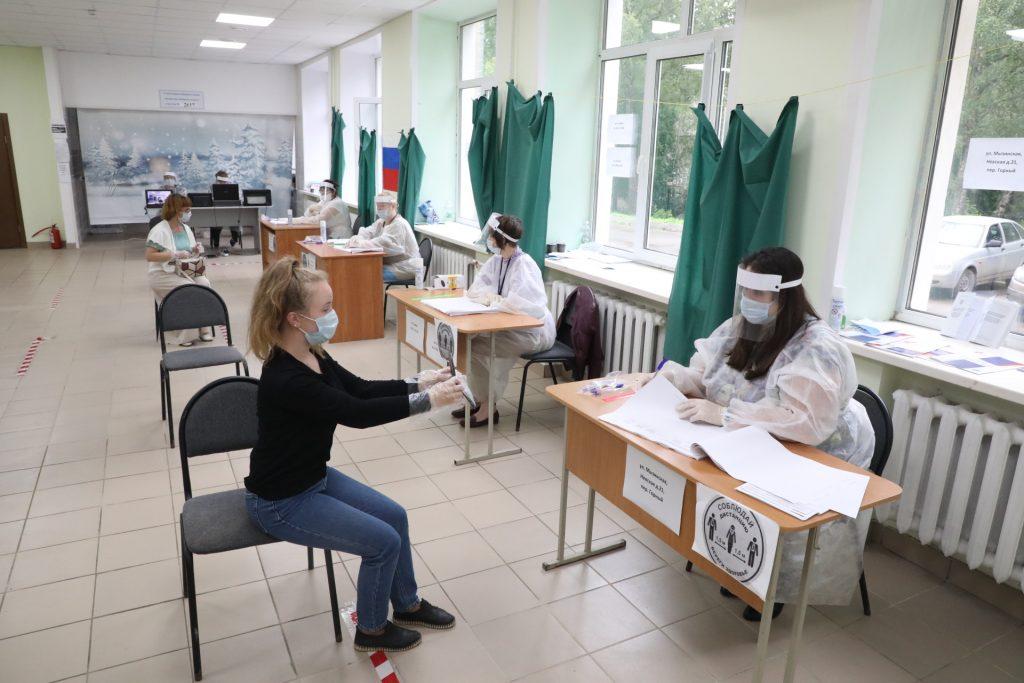Маргарита Красилевская: «Явка на голосование по поправкам в Конституцию РФ в Нижегородской области составила 73,91%»