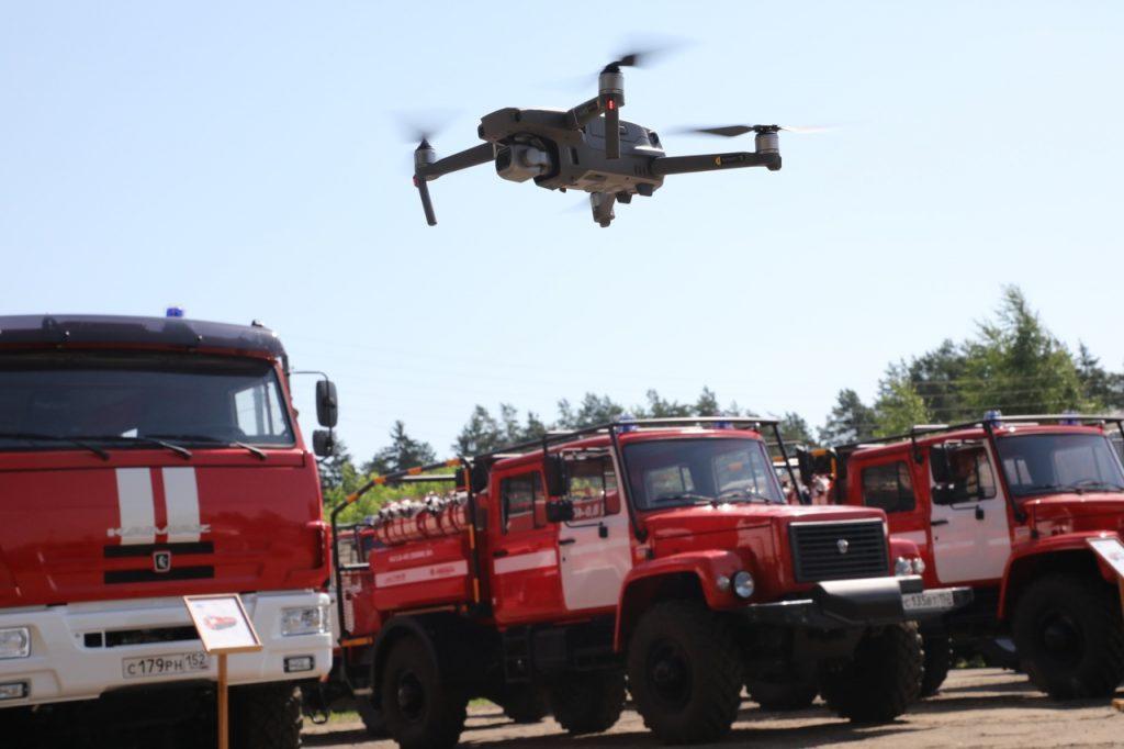 Высокая пожароопасность лесов в Нижегородской области сохранится до 6 сентября