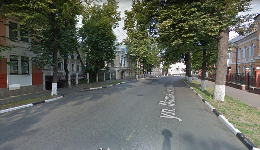 Участок улицы Малая Покровская около Управления ФСБ перекроют до середины августа
