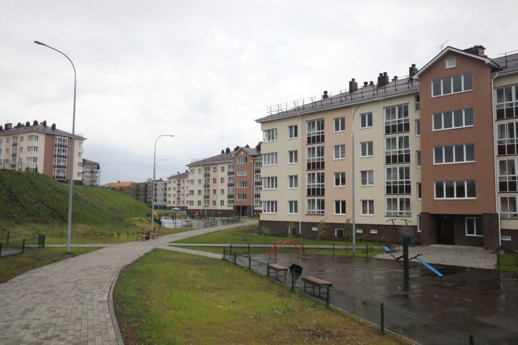 Ключи начали выдавать дольщикам домов ЖК «Новинки Смарт сити» в Нижегородской области