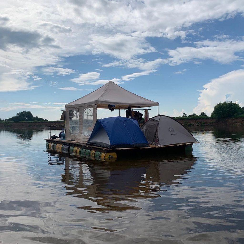 «Эмоций полные плавки»: нижегородцы вернулись домой после двухнедельного путешествия на плоту