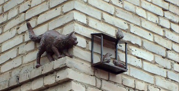 Нижний Новгород попал на Котокарту России: смотрим, каких местных котиков там можно отметить